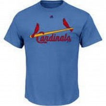 MLB Licensed St.Louis Cardinals ADULT Cool Base Crew Neck Jersey T-Shirt