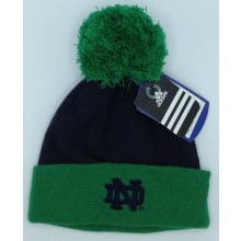 Notre Dame Fighting Irish Adidas Retro Yarn Cuffed Knit Hat