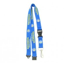 NBA Officially Licensed Golden State Warriors Blue Breakaway Lanyard Key Chain