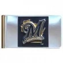 Milwaukee Brewers Bar Money Clip