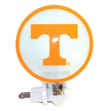 NCAA Officially Licensed Tennessee Volunteers Youth/Adult Round Logo Glass Ni...