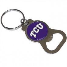 Texas Christian Horned Frogs Bottle Opener Keychain
