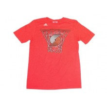 NBA Officially Licensed Portland Trail Blazers YOUTH Basket Logo T-Shirt