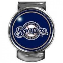 Milwaukee Brewers Dome Logo Money Clip