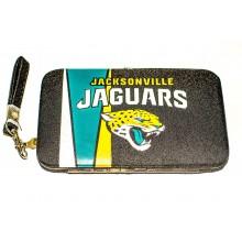 """NFL Officially Licensed Jacksonville Jaguars Smartphone Wallet Wristlet Case (3.5"""" X .5"""" X 6"""")"""