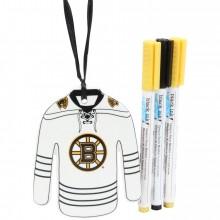 Boston Bruins Color Your Own Ceramic Jersey Ornament