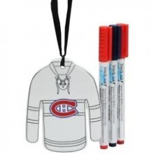 Montreal Canadiens Color Your Own Ceramic Jersey Ornament