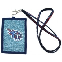 Tennessee Titans Beaded Lanyard I.D. Wallet