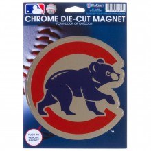 "Chicago Cubs 6.25"" x 9"" Die-Cut Magnet"