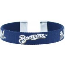 Milwaukee Brewers Ribbon Band Bracelet