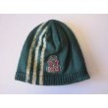 NBA Officially Licensed Milwaukee Bucks 3 Stripe Color Logo Embroidered Beanie