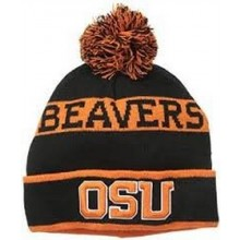NCAA Officially Licensed Oregon State Beavers Pom Knit Beanie Hat Cap Lid Toque