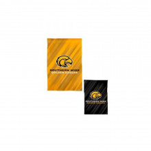 "NCAA Licensed Southern Miss Golden Eagles Outdoor Decorative Suede Glitter 29"" x 43"" House Flag"