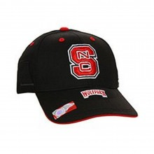 NCAA Licensed NC State Wolfpack Bill Riser Baseball Hat Cap Lid