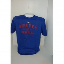 MLB Licensed Majestic Atlanta Braves Est 1871 T-shirt Size Large