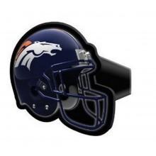 """NFL Officially Licensed Denver Broncos 4"""" Helmet Design Hitch Cover"""