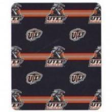 NCAA Utah Miners 50 X 60 Fleece Throw Blanket