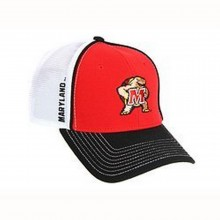 Maryland Terrapins Mesh Back Trucker Style Hat
