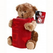 NCAA Officially Licensed Oklahoma Sooners Mascot Pillow Fleece Throw Blanket ...