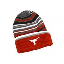 NCAA Officially Licensed Texas Longhorns Striped Landscape Cuffed Beanie