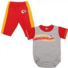 NFL Licensed Kansas City Chiefs 2 Piece Bodysuit and Pant Set