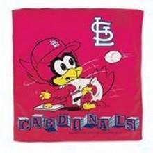 "St. Louis Cardinals Baby Fredbird 16"" X 16"" Burp Cloth"