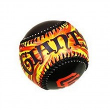 MLB Licensed San Francisco Giants Sunburst Baseball
