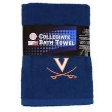 NCAA Licensed Team Logo Embroidered Bath Towel (Virginia Cavaliers)