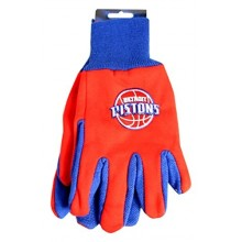 Detroit Pistons Team Color Utility Gloves