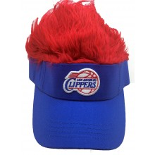 Los Angeles Clippers Flair Hair Adjustable Visor