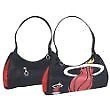 "Miami Heat Purse Handbag Hobo Bag 13"" X 6"" X 5"""