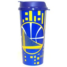 Golden State Warriors 16oz Hype Logo Insulated Travel Tumbler