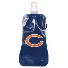 Chicago Bears 16oz Foldable Water Bottle