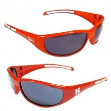 Nebraska Cornhuskers Wrap 3-Dot Sunglasses