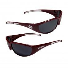 Mississippi State Bulldogs Wrap 3-Dot Sunglasses
