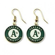 MLB Oakland A's Dangle Earrings