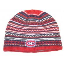 NHL Licensed Montreal Canadiens Pattern Beanie