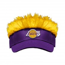 Los Angeles Lakers Flair Hair Adjustable Visor