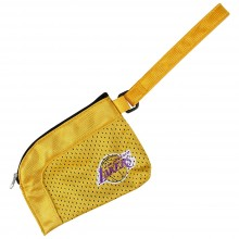 Los Angeles Lakers Jersey Stadium Wristlet