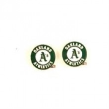 Oakland A's Stud Earrings