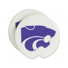 Kansas State Wildcats Ceramic Car Coasters (2 Pack)