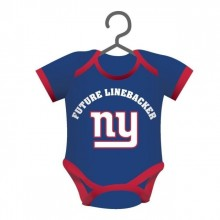 New York Giants Baby Bodysuit Ornament