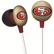 NFL Officially Licensed San Francisco 49ers Ihip Earbuds