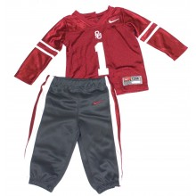 NCAA Licensed Oklahoma Sooners 2 Piece Pant and Jersey Set