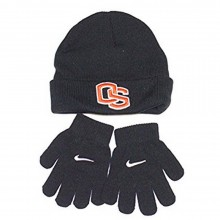 NCAA Licensed Oregon State Beavers CHILD Cuffed Beanie with Gloves