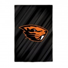 "NCAA Licensed Oregon State Beavers Outdoor Decorative Suede Glitter 29"" x 43"" House Flag"
