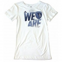 MLS Officially Licensed KC Sporting YOUTH ''WE ARE'' Shirt (Medium 10-12)