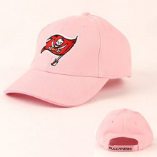 NFL Tampa Bay Buccaneers Pink Classic Yardline Baseball Hat