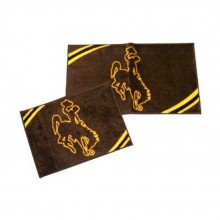 NCAA Officially Licensed Wyoming Cowboys 2-piece Rug Set