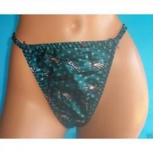 NFL Licensed Philadelphia Eagles Women's Green Panties Underwear Size Medium (6)